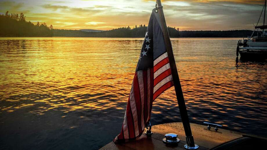 One of the 10 finalists in our #518daytrip photo contest: Sunset over Tupper Lake by Summer Wilber of Albany. (Summer Wilber)
