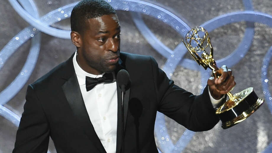 Actor Sterling K. Brown credited his wife with 'rocking my chain' when he won his award for 'The People v. O.J. Simpson,' but the Emmys themselves didn't rock viewers' chains locally or nationally. Photo: ABC