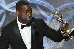 Actor Sterling K. Brown credited his wife with 'rocking my chain' when he won his award for 'The People v. O.J. Simpson,' but the Emmys themselves didn't rock viewers' chains locally or nationally.