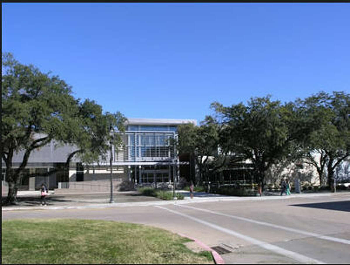 The second location The Student Center South on the University of Houston campus. A student reported a man exposing himself outside the building on Sept. 13, 2016.