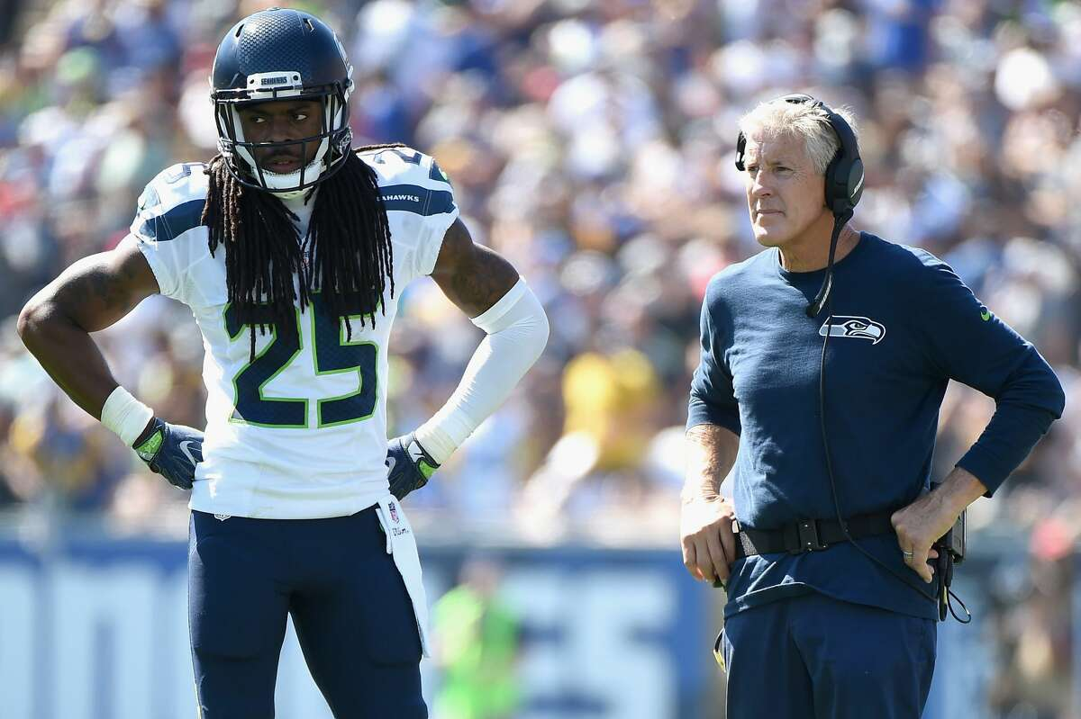 When you heard some of the things Sherman said when he left, all the critical comments about the team, how did that make you feel? Carroll: