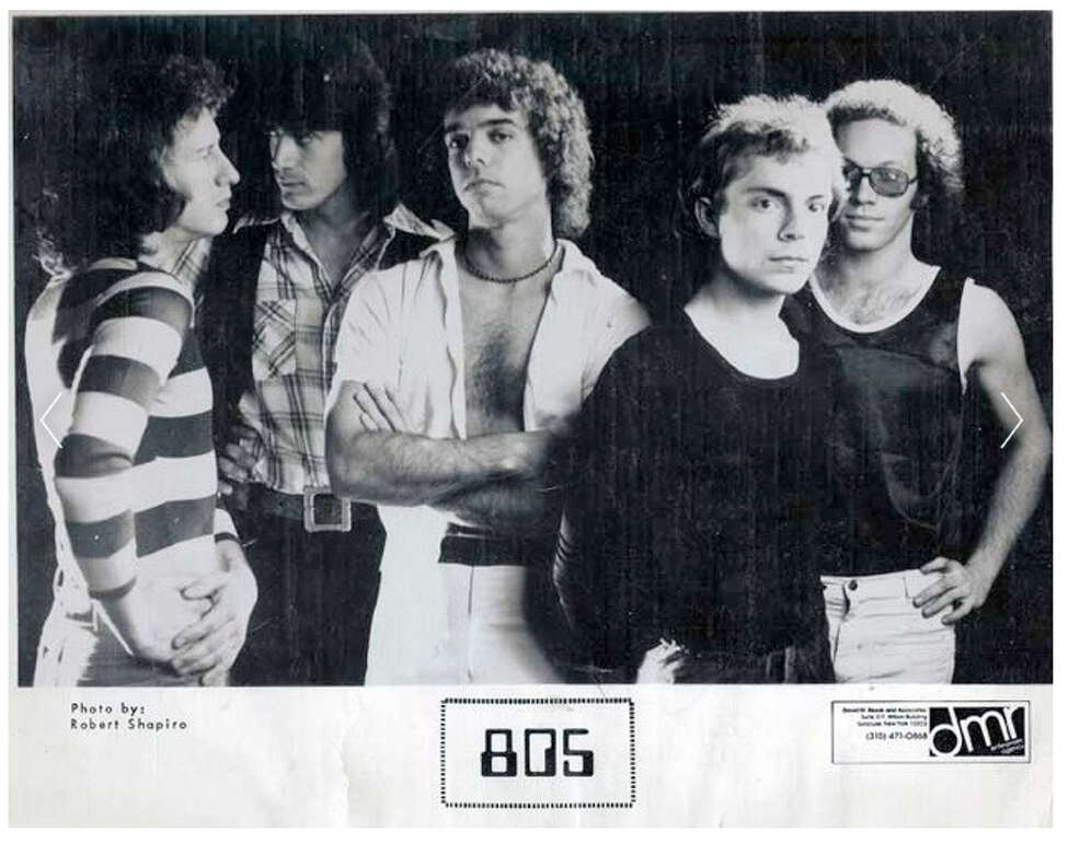 """805. Progressive rock band out of Central New York. In 1982, they released an album, """"Stand in Line,"""" that climbed to number 36 on the Billboard charts and the video for their hit single """"Young Boys"""" got serious MTV airplay."""