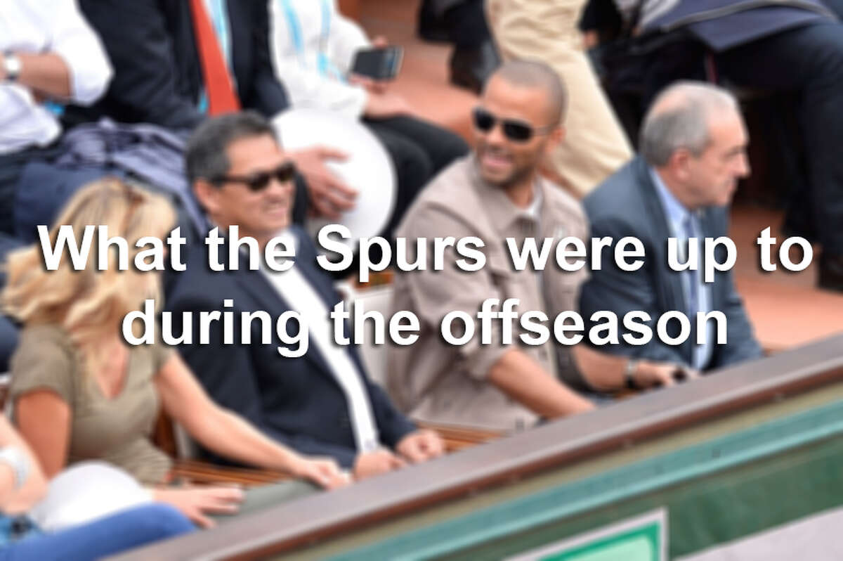 Click ahead to see what the Spurs have been up to this offseason.