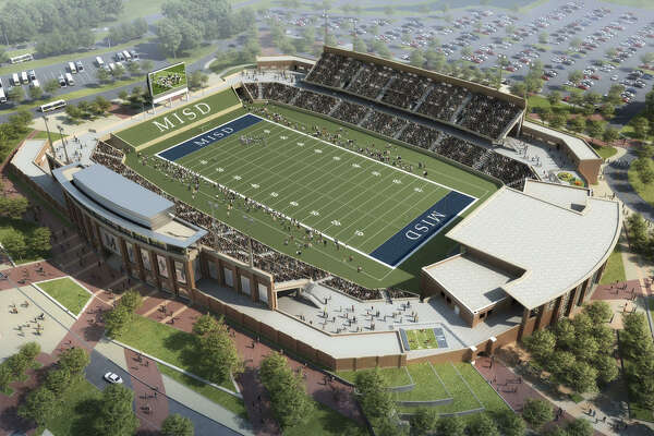 Rendering of upcoming high school football stadium McKinney Independent School District, which is slated to debut in fall 2017.