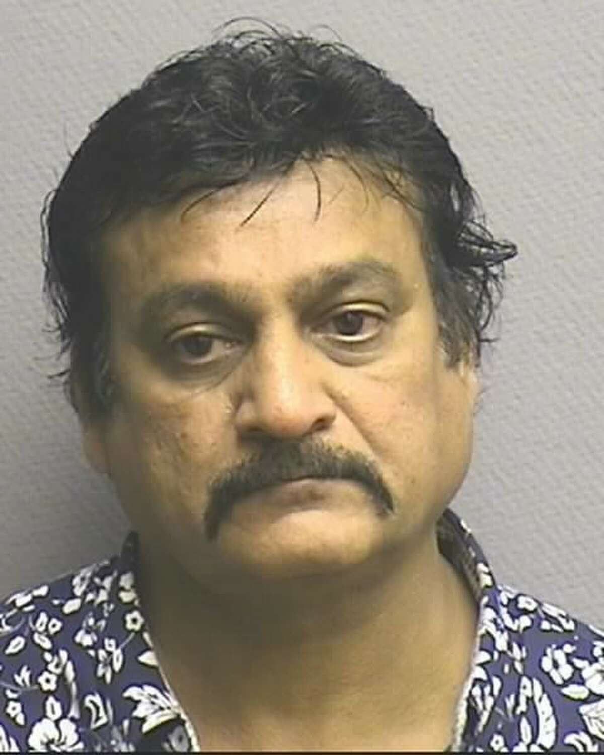 Naushaud Ramzan-Ali Pradhan, 58, was arrested in connection with an investigation into the distribution of synthetic cannabinoids, or Kush, in Houston. The arrest was announced Monday, Sept. 19, 2016.