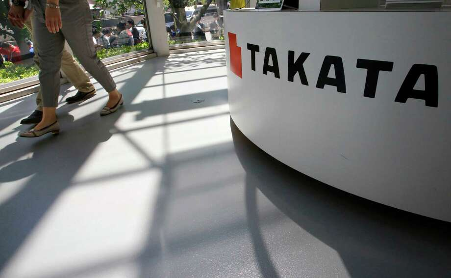 Takata Corp. may be leaning toward three bids: one by air bag inflator maker Daicel Corp. and Bain Capital, and the others by buyout firm KKR & Co. and bumper supplier Flex-N-Gate Corp., according to a person with knowledge of the matter. Photo: Shizuo Kambayashi /Associated Press / Copyright 2016 The Associated Press. All rights reserved. This material may not be published, broadcast, rewritten or redistribu