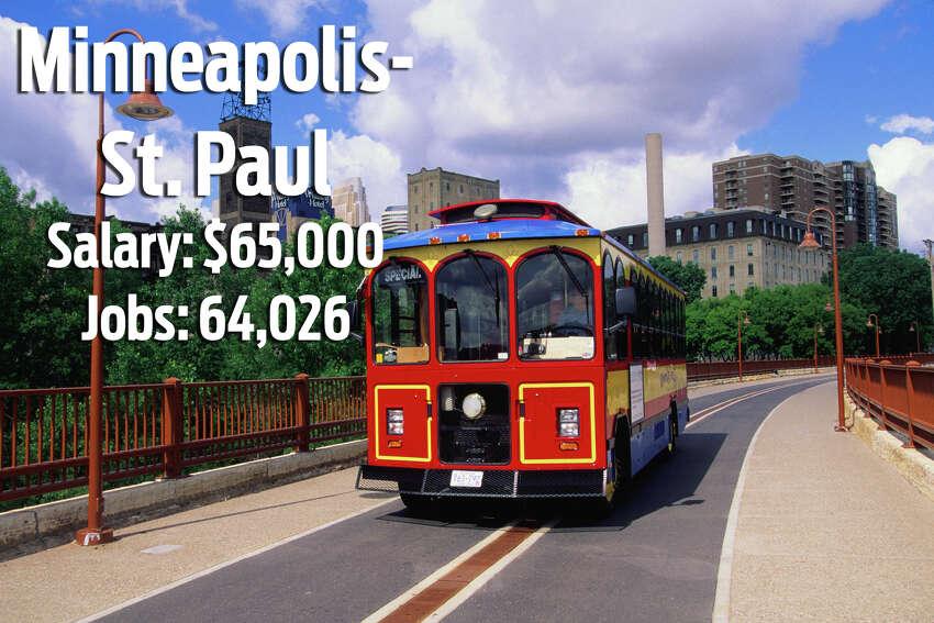 24. Minneapolis-St. Paul, MinnesotaCost of Living Ratio: 30%Median Home Value: $219,400