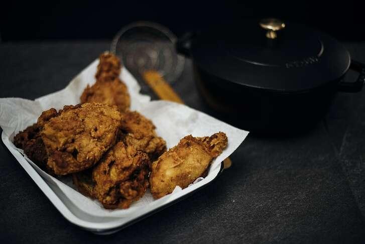 Spiced Kefir Fried Chicken by Nik Sharma
