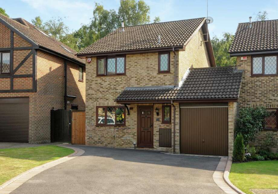 "The home Potter fans know as ""Four Privet Drive"" is actually in a cul de sac in Berkshire, an hour west of London."