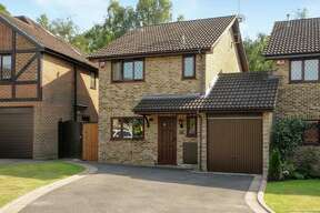 "The home Potter fans know as ""Four Privet Drive"" is actually in a cul de sac in Berkshire, an hour outside of London."