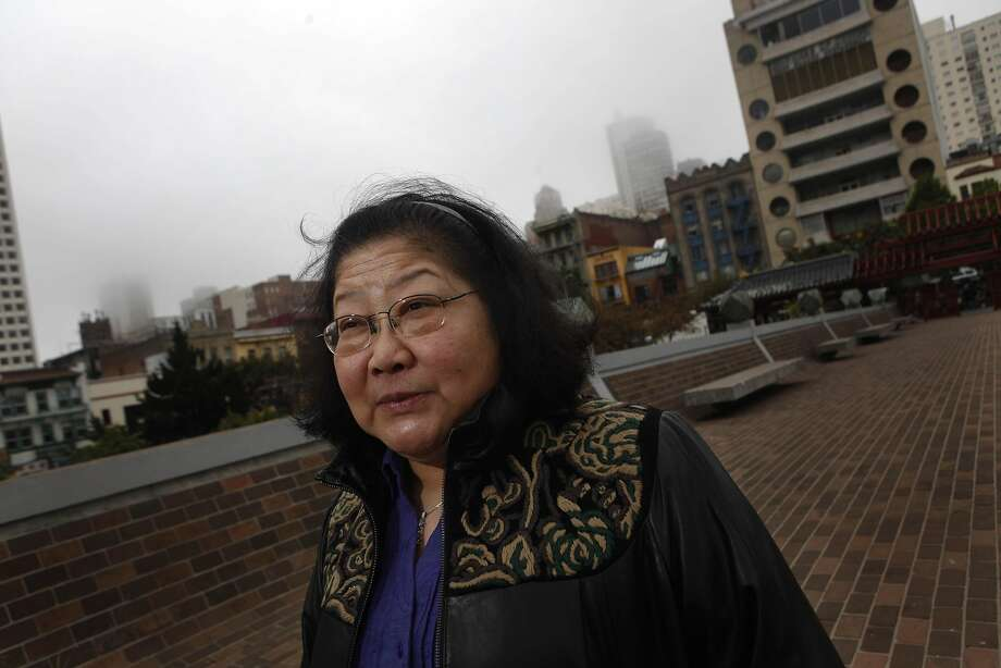 Rose Pak is seen on the bridge connecting Portsmouth Square to  Hilton San Francisco Financial District over Kearny Street in San Francisco, Calif. on Friday September 17, 2010. Photo: Lea Suzuki, The Chronicle