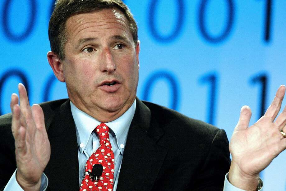 Mark Hurd, chairman and chief executive officer of Hewlett-Packard Co., speaks during the Fortune Tech Conference in San Francisco, California, Friday, July 13, 2007. Photographer: Jeff Carlick/Bloomberg News. Photo: Jeff Carlick, BLOOMBERG NEWS