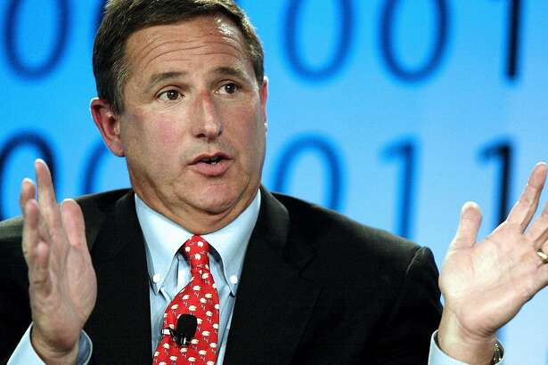 Mark Hurd, chairman and chief executive officer of Hewlett-Packard Co., speaks during the Fortune Tech Conference in San Francisco, California, Friday, July 13, 2007. Photographer: Jeff Carlick/Bloomberg News.