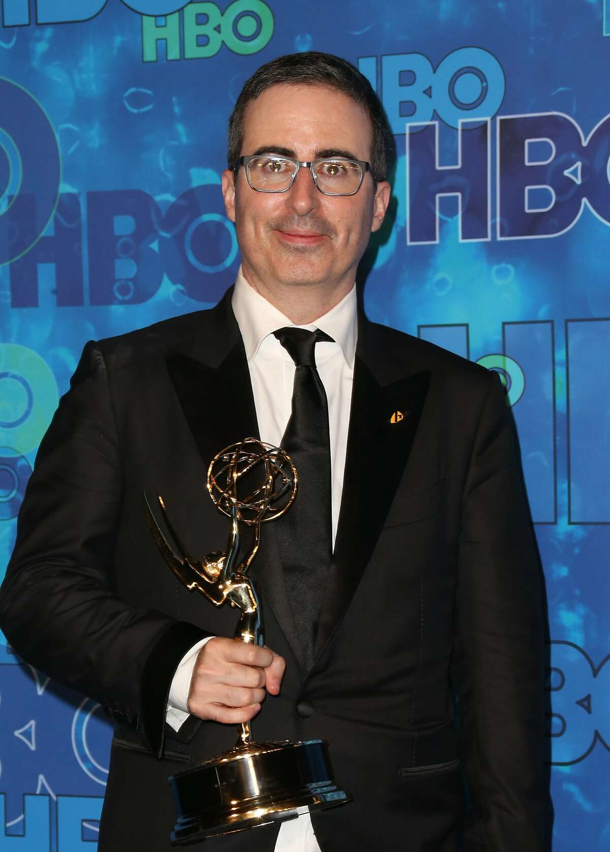 Comedian John Oliver attends HBO's Official 2016 Emmy After Party at The Plaza at the Pacific Design Center on September 18, 2016 in Los Angeles, California.