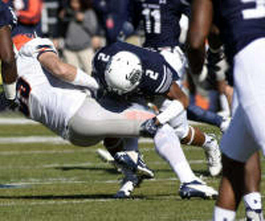 Old Dominion free safety Justice Davila's targeting penalty against North Carolina State was overturned Monday by Conference USA officials. It means that Davila will be able to play in the entire game against the Roadrunners Saturday in Norfolk, Va. (Photo: ODU Sports)