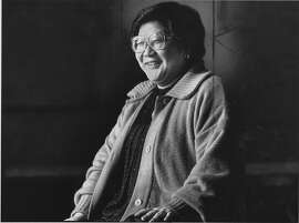 Rose Pak, a political activist for the people who live in Chinatown  Photo taken 12/12/1988 Photo ran 12/16/1988, p. A4