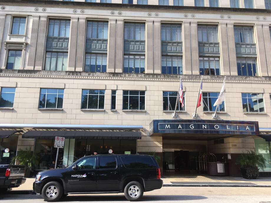 The Magnolia Hotel at 1100 Texas Avenue in downtown Houston will become part of the Tribute Portfolio in January 2017. Photo: Katherine Feser, Houston Chronicle