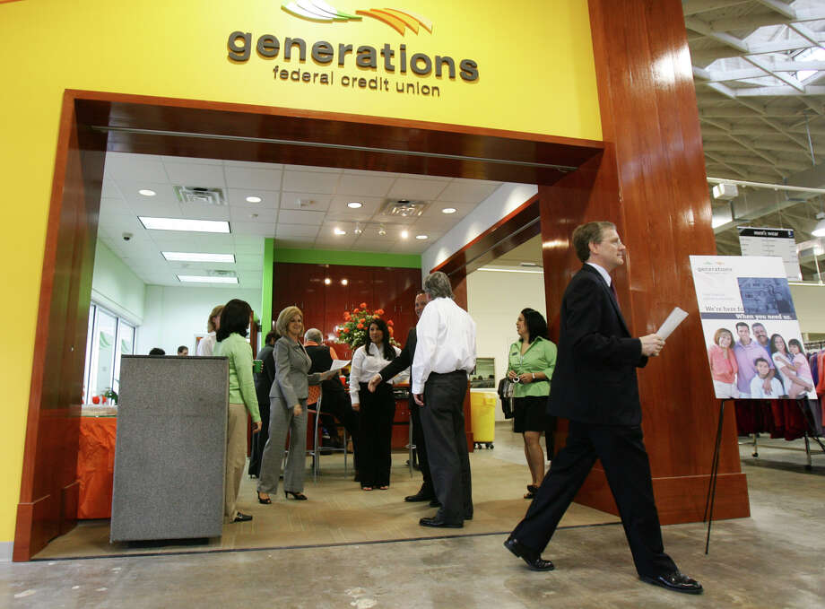 Generations Federal Credit Union can now offer its lending, investments and insurance products to consumers and businesses in Atascosa, Bandera, Comal, Guadalupe, Kendall, Medina and Wilson counties Photo: San Antonio Express-News /File Photo / SAN ANTONIO EXPRESS-NEWS