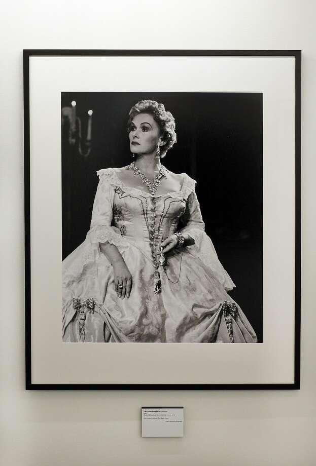 """Soprano Elisabeth Schwarz kopf as the Marschallin in """"Der Rosenkavalier"""" in 1955. Photo: SF Opera"""