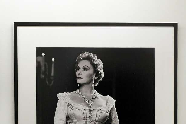 Soprano Elisabeth Schwarzkopf in a 1955 photograph by Robert Lackenbach
