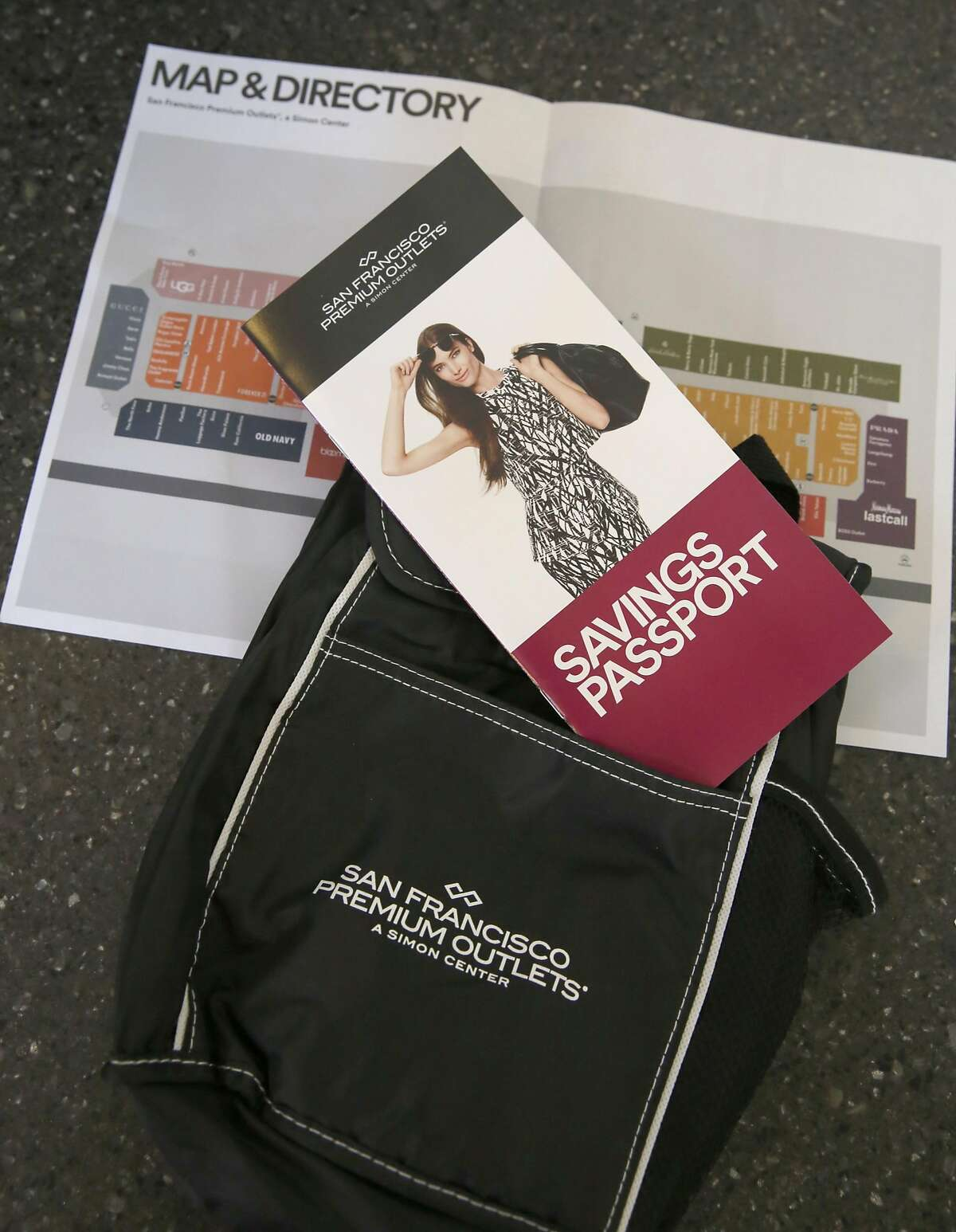 San Francisco Premium Outlets on Wednesday, September 14, 2016, offer a free coupon book to California residents in Livermore, Calif.