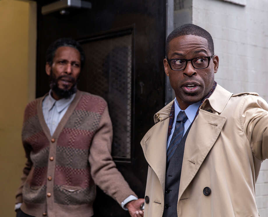 Left, Ron Cephas Jones as William and Sterling K. Brown as Randall, a businessman with a chip on his shoulder. Photo: NBC / NBC / Ron Batzdorff / 2016 NBCUniversal Media, LLC