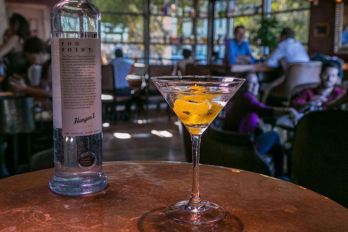 $43, Fog Point Vodka Martini at Epic Steak Fog catchers installed around San Francisco captured the