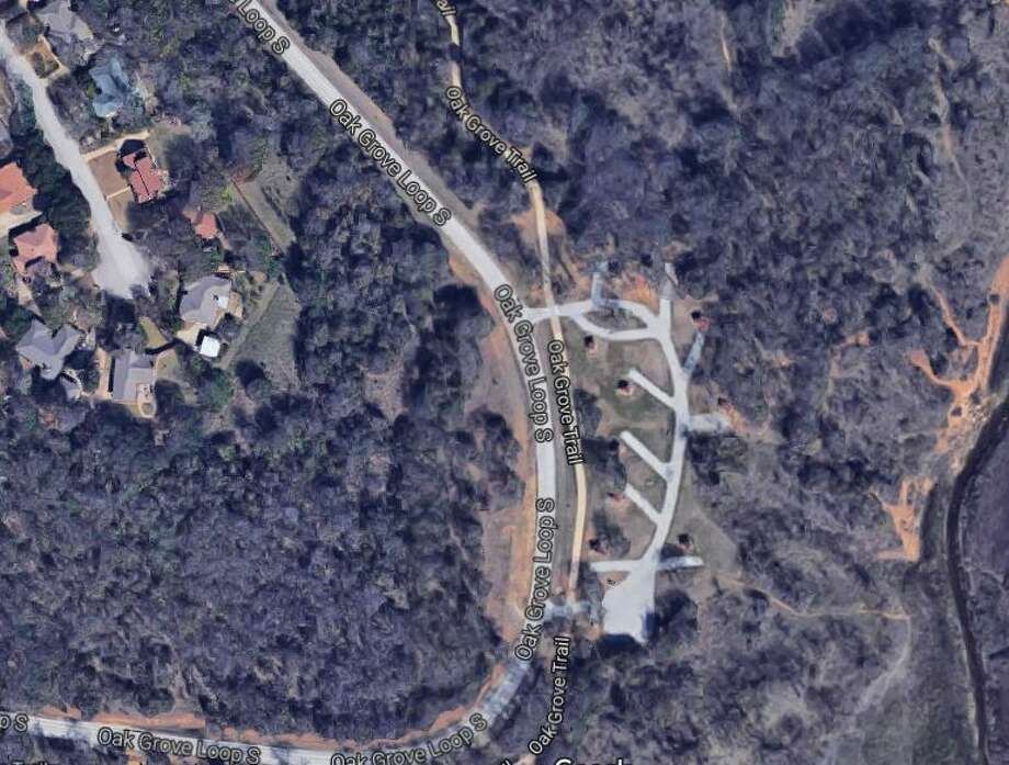Acorn Woods Park in Grapevine Texas near where a woman's body was found dismembered on Sept. 14. Photo: Google Maps