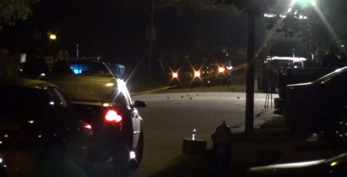 A deputy constable shot and killed a woman who pulled out a gun on him and a fellow officer about 9:30 p.m. Monday, Sept. 19, 2016, along Spring Dane near Cypresswood southeast of Spring. (Metro Video)