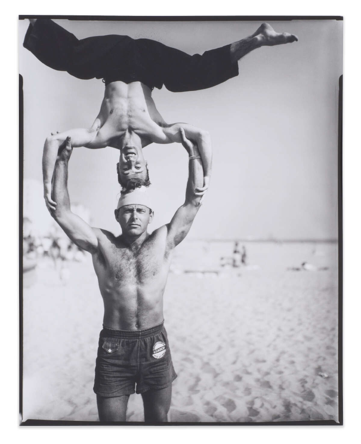 """From the Ben Ortiz and Victor P. Torchia Jr. Collection, """"Headstand, Muscle Beach''"""
