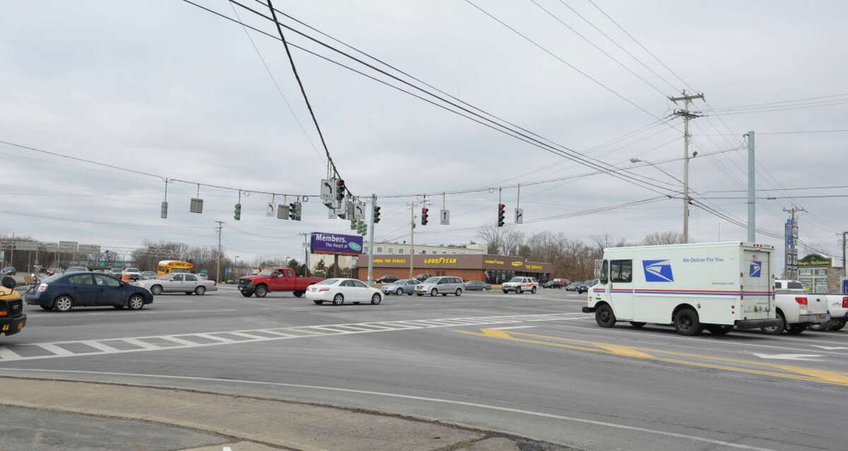 The intersection of Route 146 and Route 9 on Tuesday, March 5, 2013 in Clifton Park, NY.