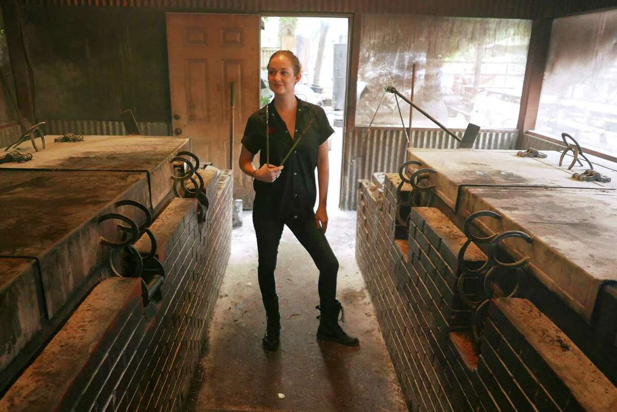 Laura Loomis began working as a cashier at Two Bros. BBQ Market and rose to become one of the few female pitmasters in the country.