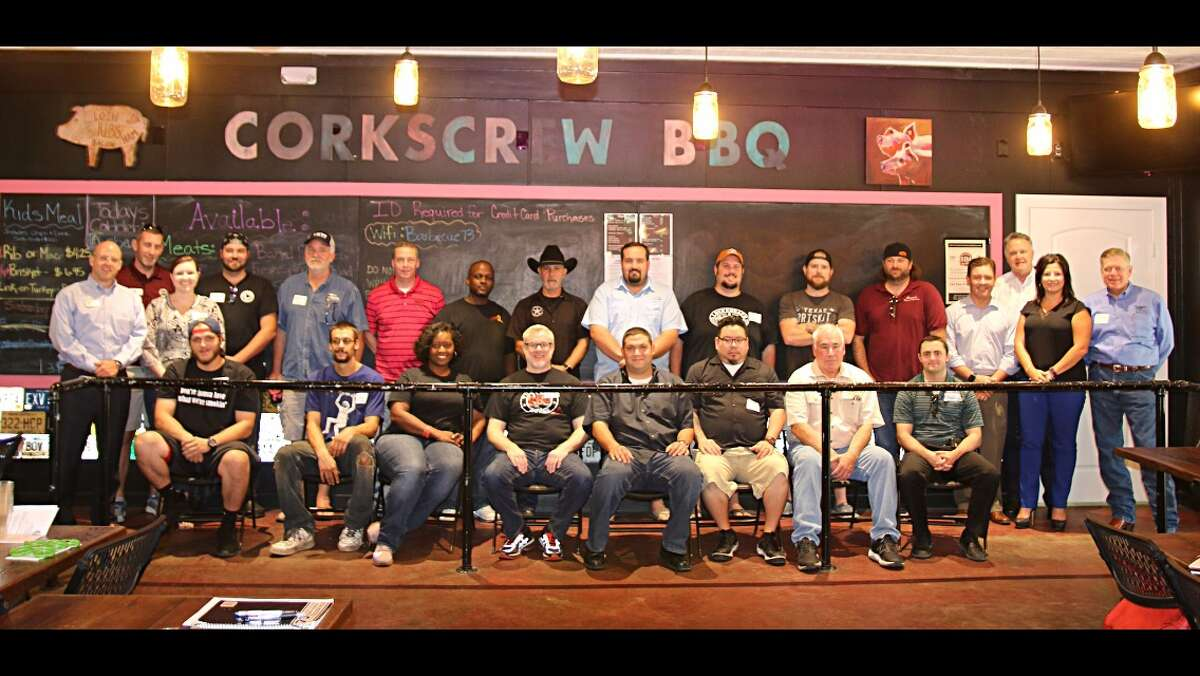 A group shot of the pitmasters from the area's best smoked meats purveyors who will participate in the first Woodlands BBQ Festival set for Sunday, Sept. 25 at Town Green Park, the Woodlands.