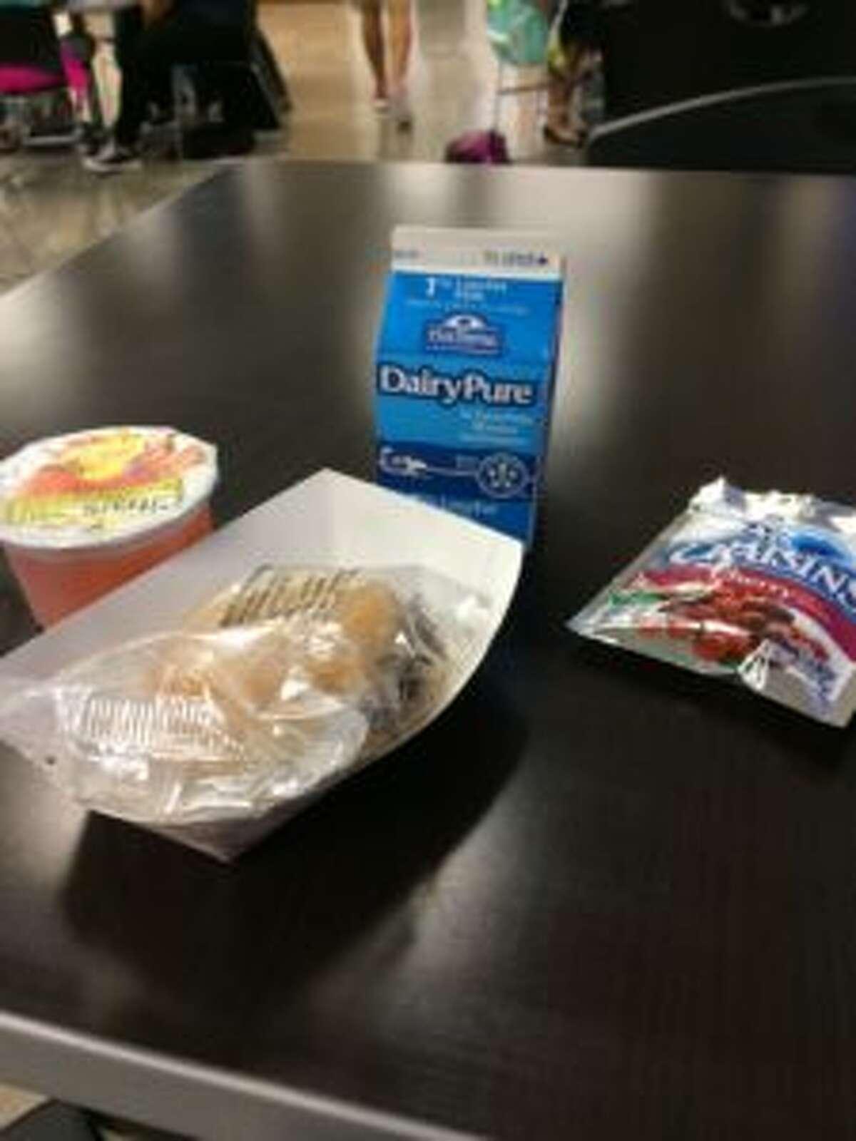 An HISD school breakfast