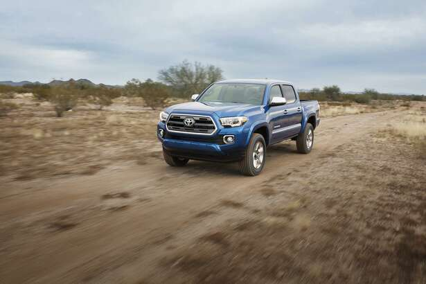 A Toyota Tacoma pickup truck. A new report from Edmunds.com shows truck loyalty at its highest rate since the auto website started tracking customer loyalty in 2005.
