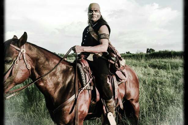 "San Antonio actor Jonathan Joss plays Denali, the bad guy's henchman, in ""The Magnificent Seven."""