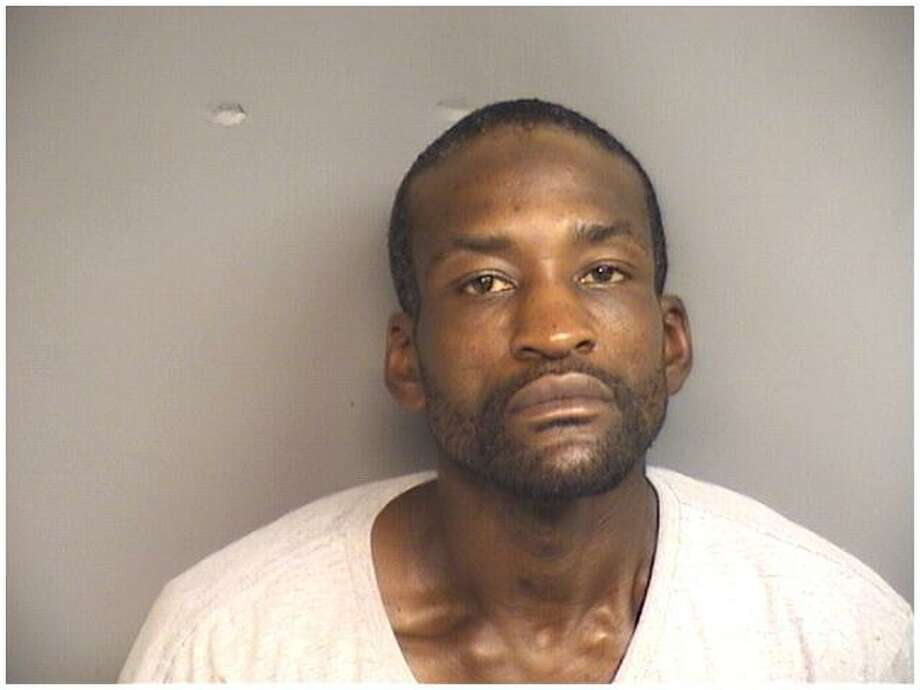 Allen Johnson, 39, of Stamford, was charged with selling heroin after police allegedly found 110 bags of heroin in his pockets on Saturday. Photo: Stamford Police / Contributed