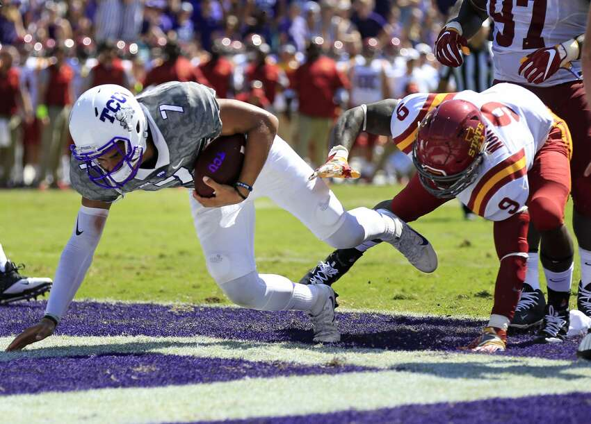 TCU (2-1, 1-0) Last week: Defeated Iowa St., 41-20 Up next: at SMU