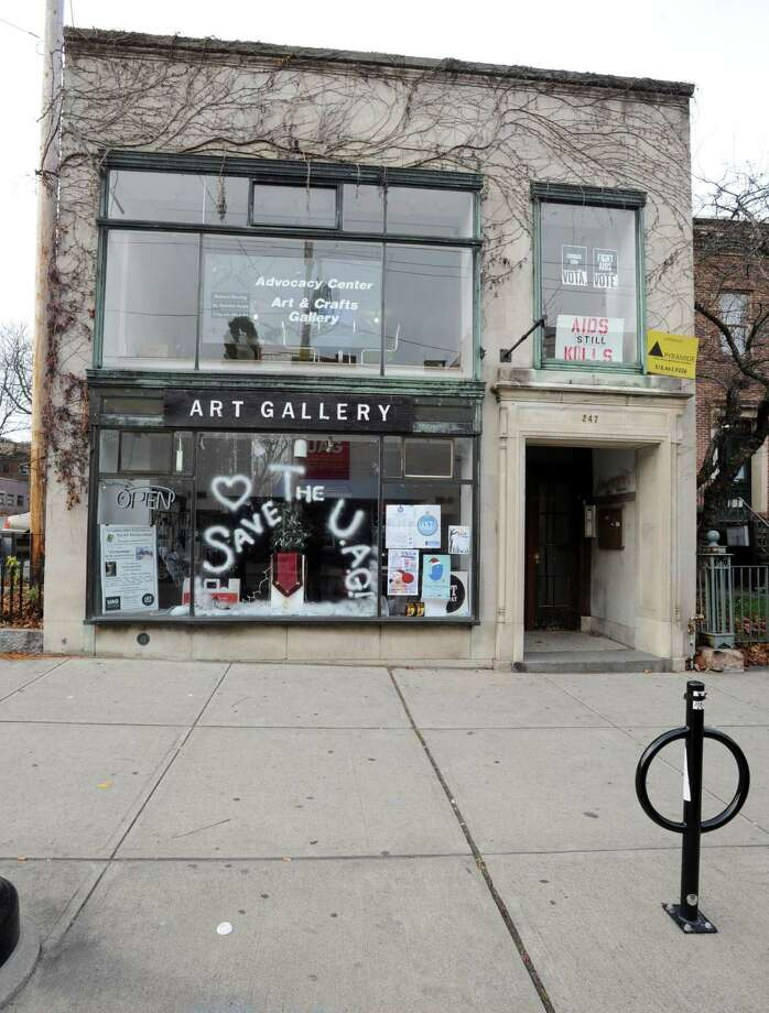The Art Gallery at 247 Lark St. on Dec. 5, 2011 in Albany, N.Y. The Upstate Artists Guild faces possible eviction from the Lark St. building. (Lori Van Buren / Times Union) Photo: Lori Van Buren / 10015674A
