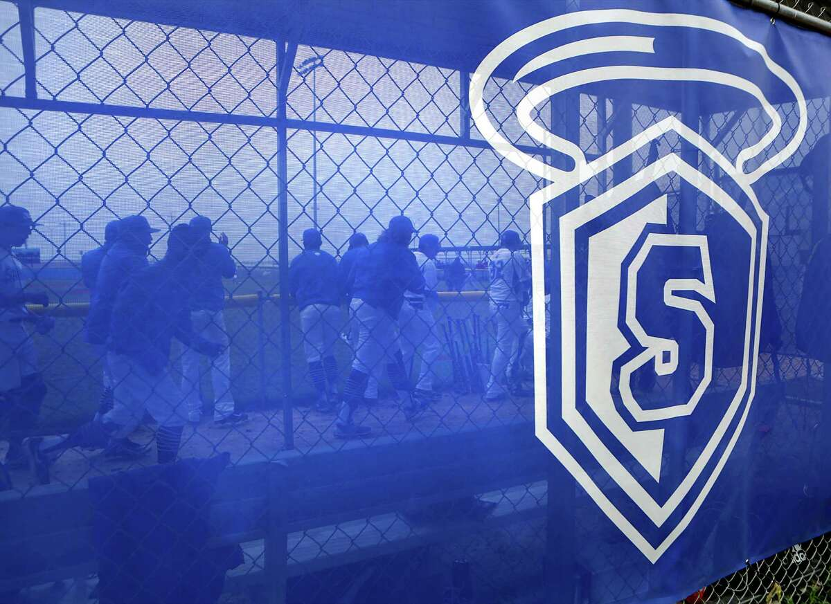 The Our Lady of the Lake University Saints baseball team holds its first game at Missions Baseball Academy on Feb. 6, 2015.