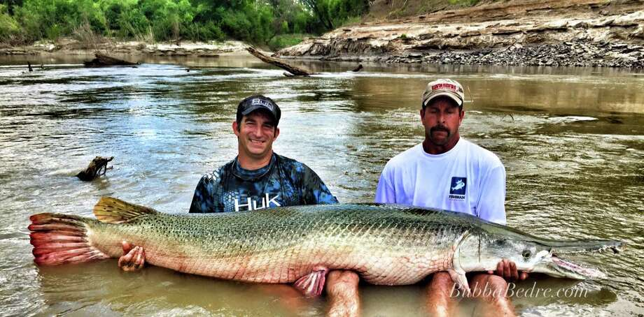 Capt. Bubba Bedre, of Palestine, runs Garzilla Alligator Gar Service which is racking up the records, celebrity clientele and international attention. Photo: Bubba Bedre