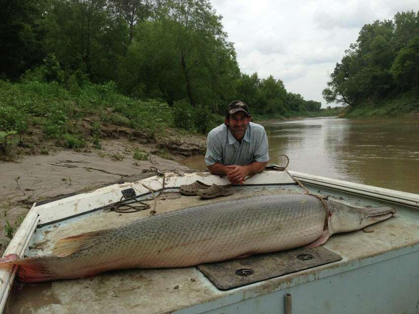 Capt. Bubba Bedre, of Palestine, runs Garzilla Alligator Gar Service which is racking up the records, celebrity clientele and international attention.