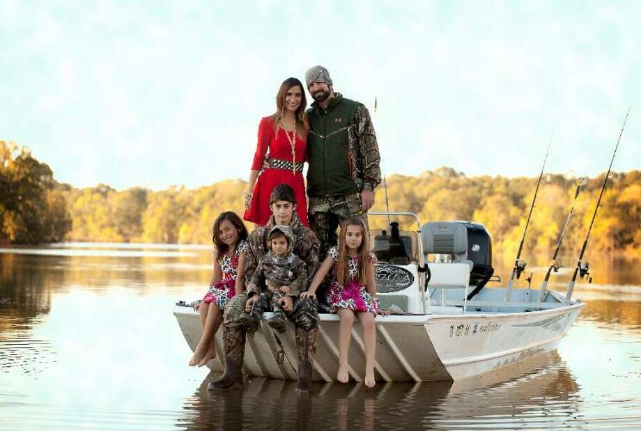 Bubba Bedre, his wife, Sylvia and their children.