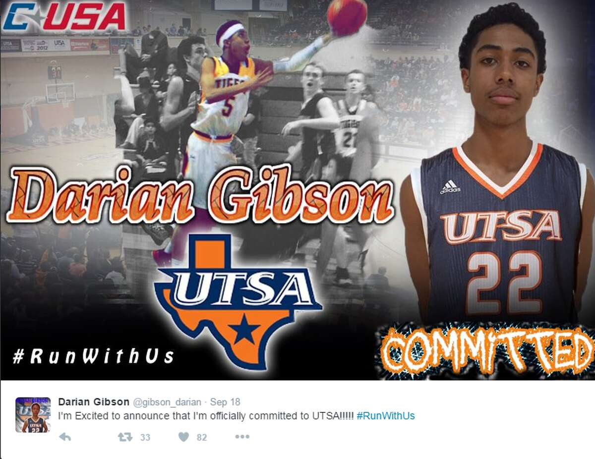 UTSA Class of 2019 committ Darian Gibson