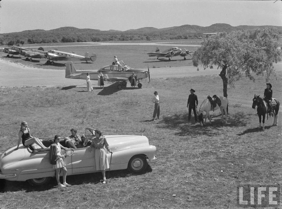 ABOVE: Life magazine-found on the internet.Grand Opening of the Flying L Ranch Called a Fashion Rodeo by Stanley Marcus of Neiman Marcus