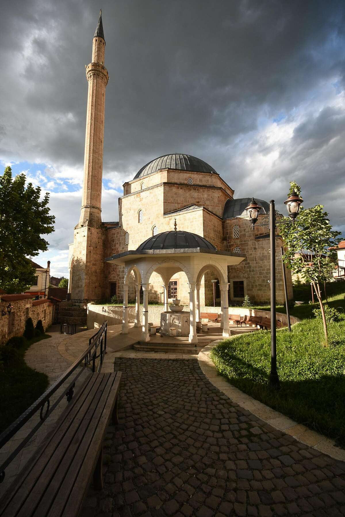 The Sinan Pasha Mosque is an Ottoman mosque in the Old City of Prizren.