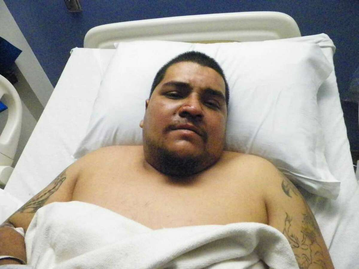 Jose Guadalupe Ortiz Jr. shortly after the accident that killed Sandy Valero. Now 29, he was sentenced Tuesday to 10 years in prison for intoxication manslaughter.