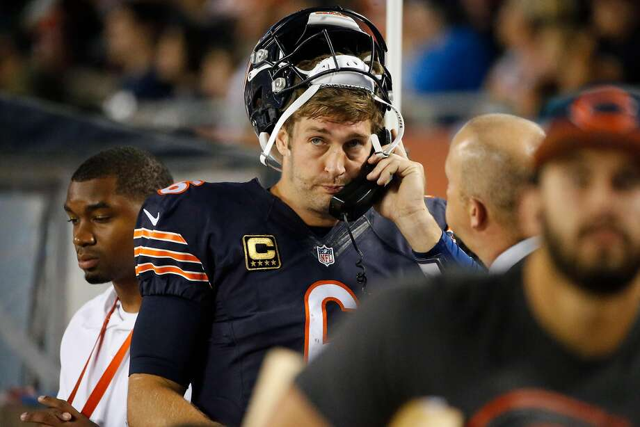 Former Bears quarterback Jay Cutler has answered the Dolphins' call to be Maimi's newest quarterback. Photo: Nam Y. Huh, Associated Press