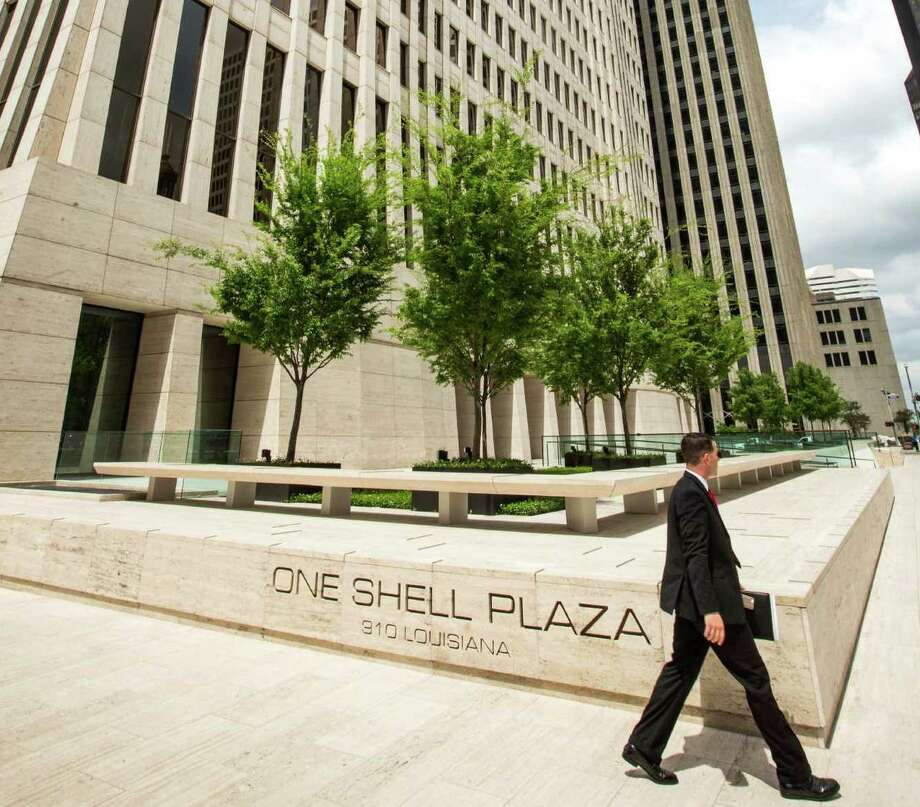 Photos: Towers shaping Houston's skylineNRG Energy will be moving its downtown Houston offices into the One Shell Plaza tower, the company confirmed on Wednesday.See the skyscrapers being finished or built in 2017 that will change Houston's skyline.  Photo: Brett Coomer, Houston Chronicle / © 2015 Houston Chronicle
