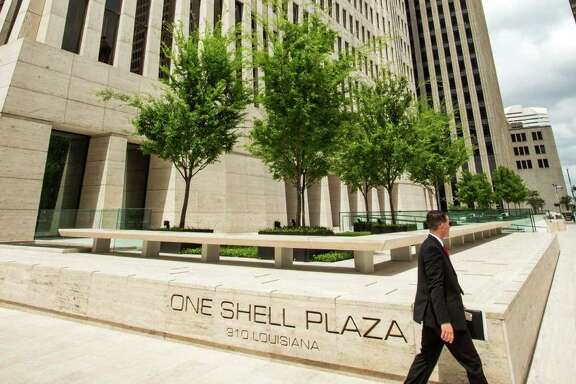 One Shell Plaza in downtown Houston.